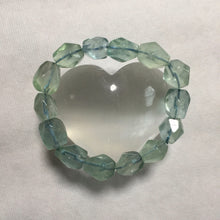 Load image into Gallery viewer, Blue Fluorite Bracelet  SOLD OUT - Blue & Tansy