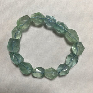 Blue Fluorite Bracelet  SOLD OUT - Blue & Tansy