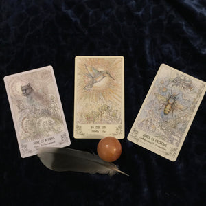 Keep it simple. Tarot Forecast. - Blue & Tansy