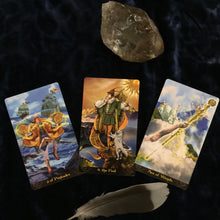 Load image into Gallery viewer, Keep it simple. Tarot Forecast. - Blue & Tansy