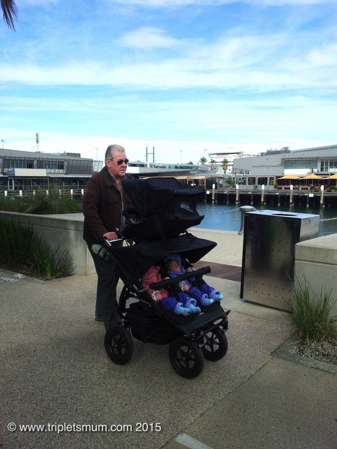 This is what Tripletsmum say about Adventure Buggy Co.® Triplet pram!