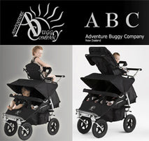 What is the difference between the Aspire and the Everest Twin buggy?