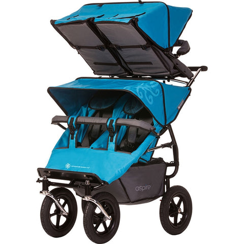 Aspire Twin Buggy + Duolo accessory seat (Quad Stroller)
