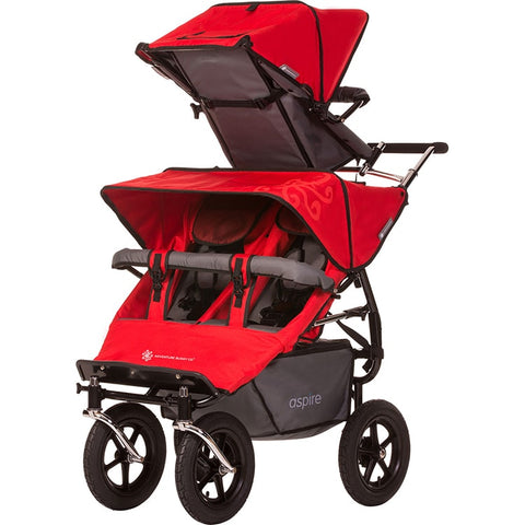Aspire Twin Buggy + Solo accessory seat (Triple Stroller)