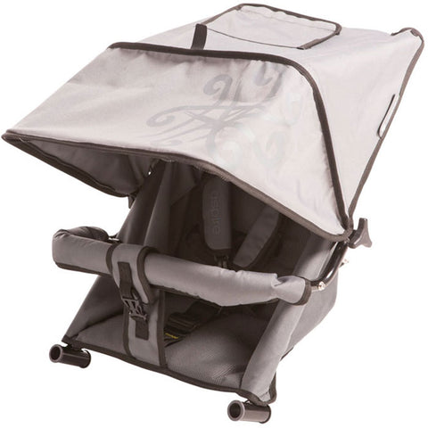 Single toddler seat for Adventure Buggy Co. Canopy drawn