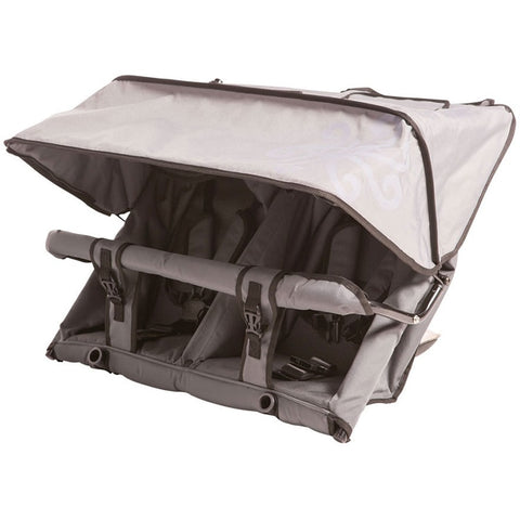 Duolo accessory seat from Adventure Buggy Co. Drawn canopy