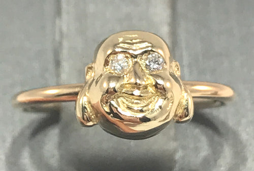 Signature Buddha Ring