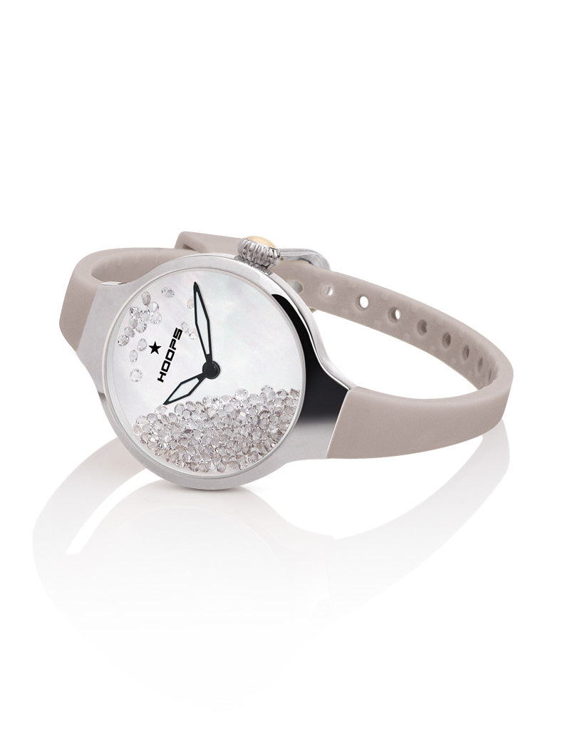 Orologio Hoops, modello Nouveau Cherie Rolling Stone Greige - Antoinette concept store