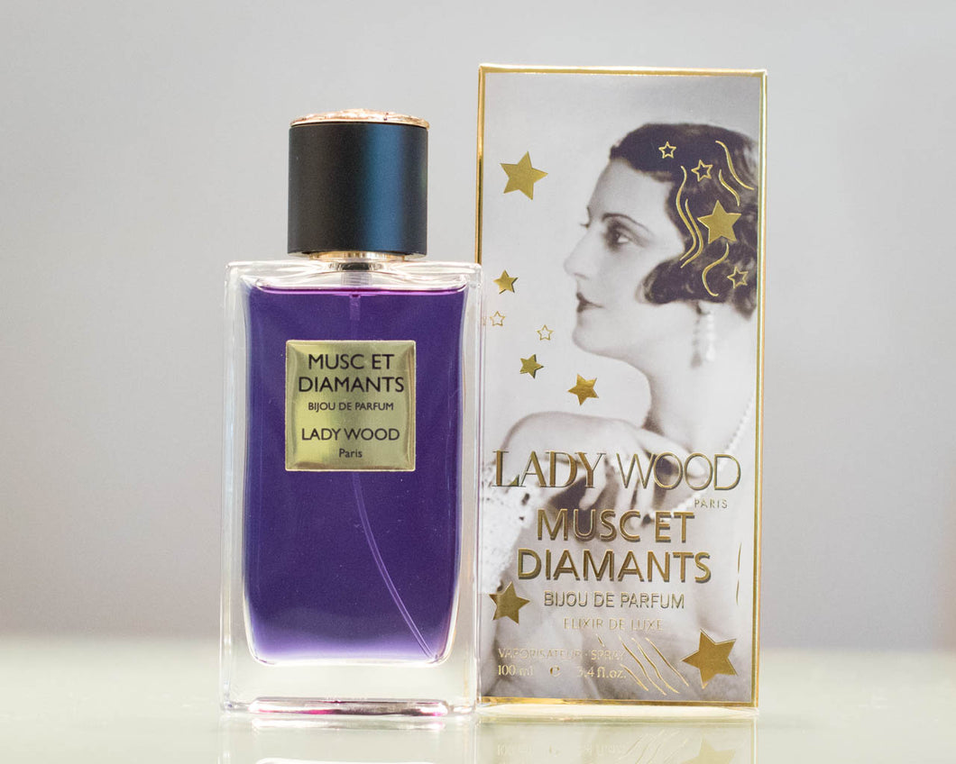 Profumo Lady Wood MUSC ET DIAMANTS