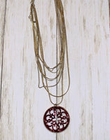 Wine and dine Necklace