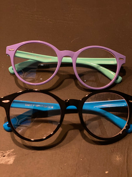Two Tone Kids Blue Light Glasses
