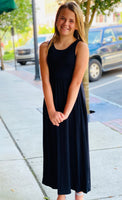 Little Darling Black Maxi