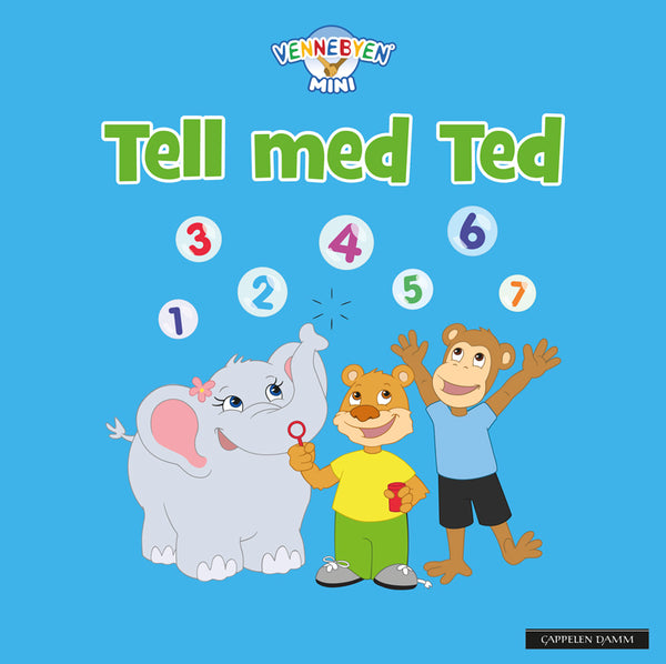 Tell med Ted - Bok - Mini