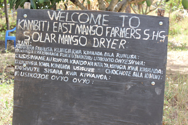Kambiti East Mango Farmers Self Help Group Solar Mango Dryer