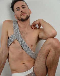 Knit Silver Harness