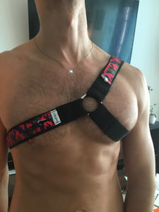 Red Camouflage Shoulder Harness