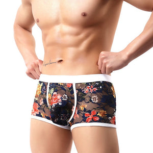 Lace Floral Boxers and Briefs