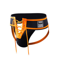 Footballer Lace Up Jockstrap,