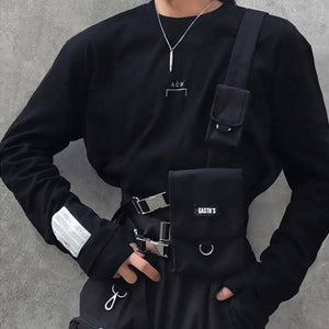 Tactical Vest Streetwear Bag