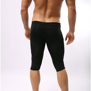 Knee length boxer tights