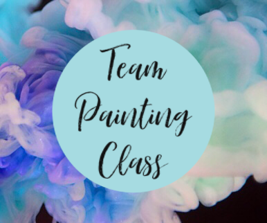 "Team Painting - For Beginners class with Julia of ""All4Reborns"""