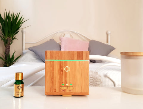 Raised Spirit Aroma Diffuser - with free Organic CBD Diffuser Oil