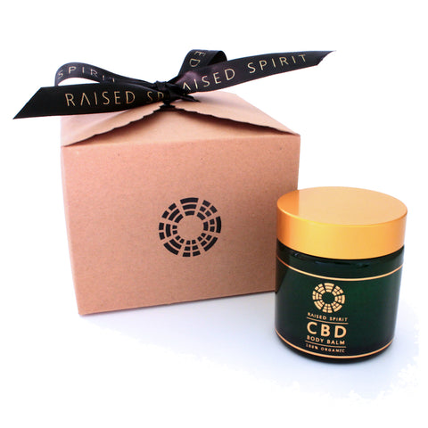 Raised Spirit Organic CBD Body Balm