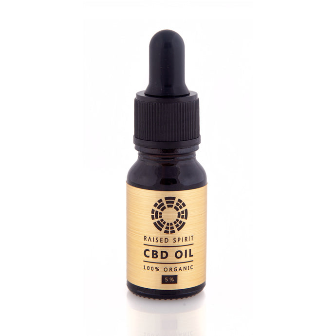Organic CBD Oil Drops 5%