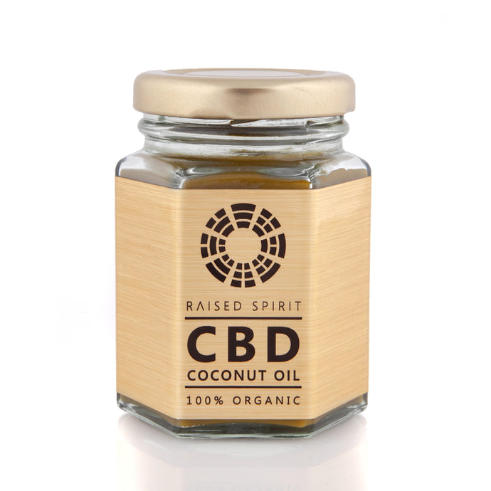 Organic CBD Coconut Oil GOLD
