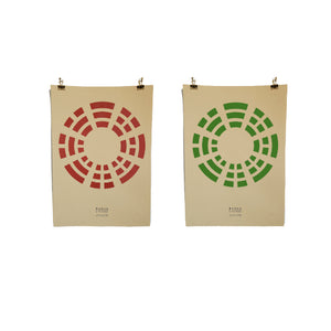 Hemp Posters - Limited Edition Bagua
