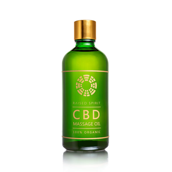 Organic CBD Massage Oil