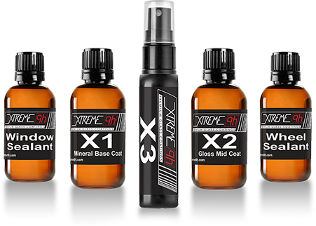 The Total Package: X1, X2, X3, Wheel Sealant and Window Sealant