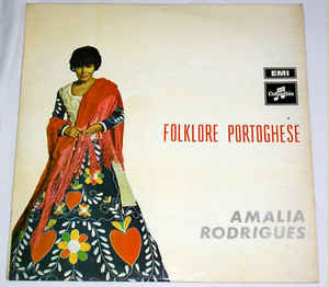 Amália Rodrigues ‎– Folklore Portoghese
