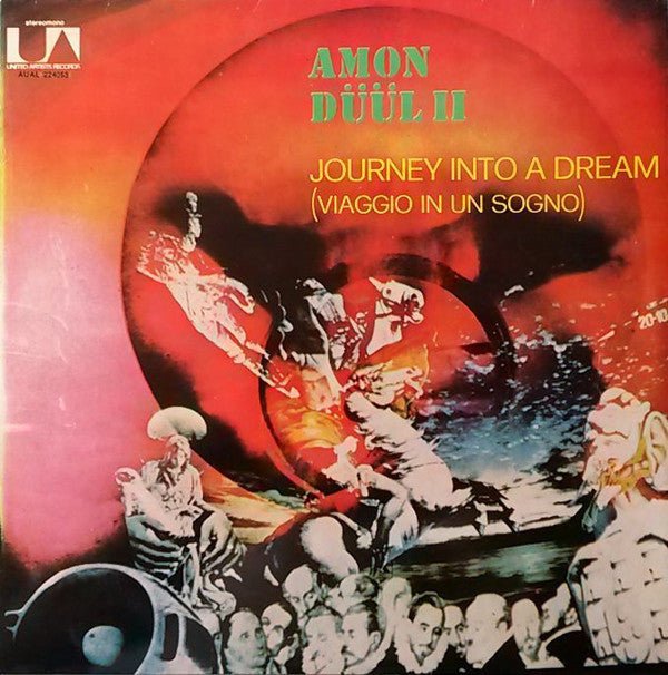 Amon Düül II ‎– Journey Into A Dream (Viaggio In Un Sogno)