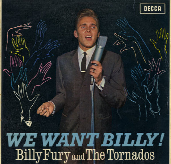 Billy Fury And The Tornados ‎– We Want Billy!