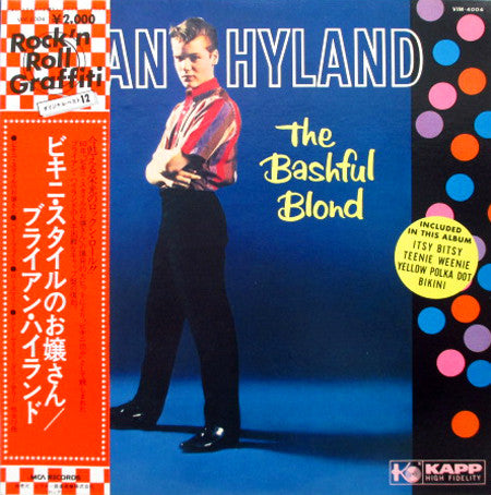 Brian Hyland ‎– The Bashful Blond