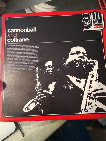 Cannonball Adderley And John Coltrane ‎– Cannonball And Coltrane