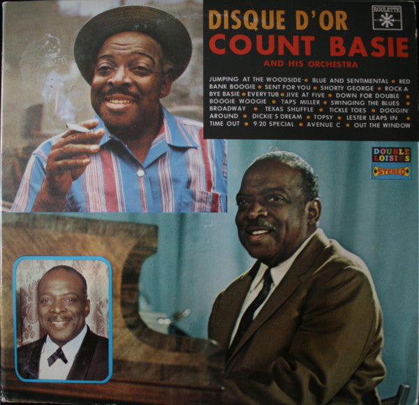 Count Basie And His Orchestra ‎– Disque D'or