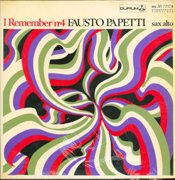 Fausto Papetti ‎– I Remember No. 4
