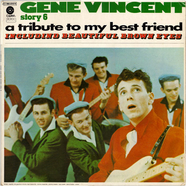 Gene Vincent ‎– Gene Vincent Story 6 A Tribute To My Best Friend