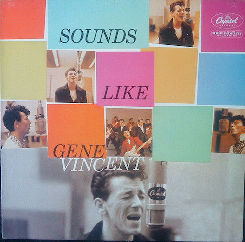 Gene Vincent ‎– Sounds Like Gene Vincent