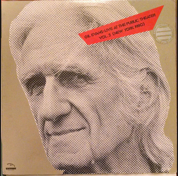 Gil Evans ‎– Live At The Public Theater Vol. 2 (New York 1980)