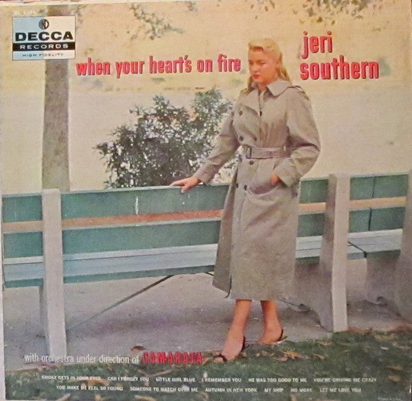 Jeri Southern ‎– When Your Heart's On Fire