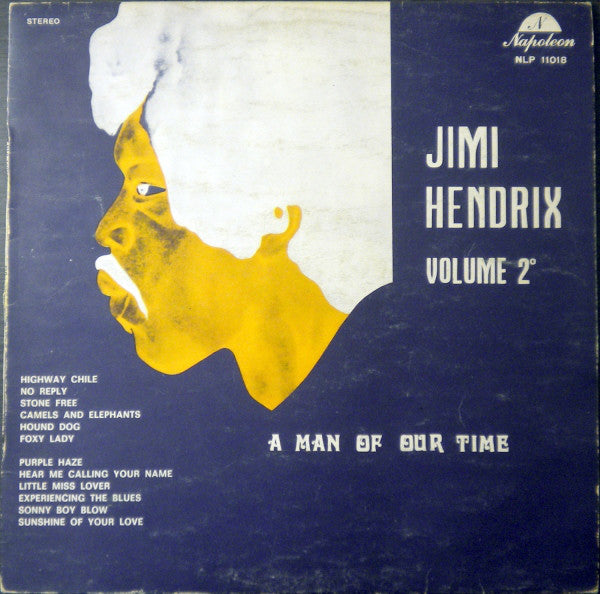Jimi Hendrix ‎– Volume 2 - A Man Of Our Time