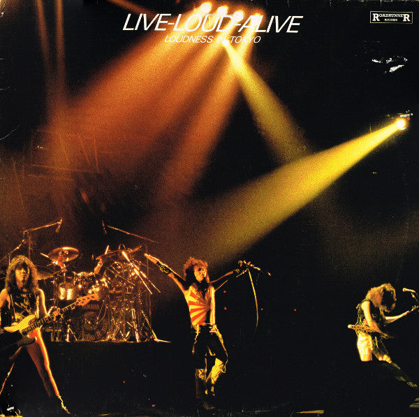 Loudness ‎– Live-Loud-Alive (Loudness In Tokyo)