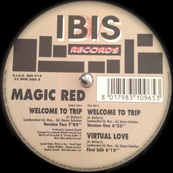 Magic Red ‎– Welcome To Trip