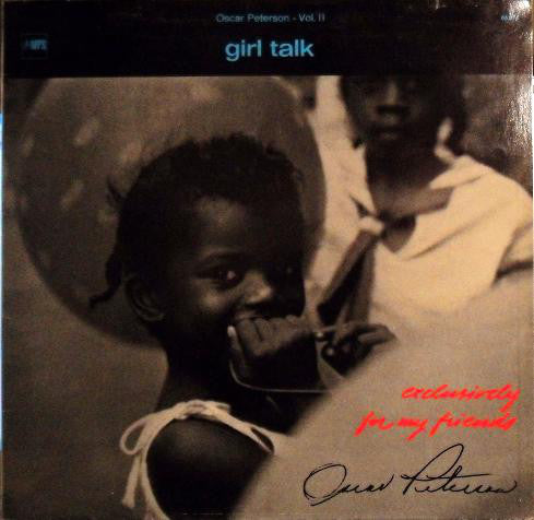Oscar Peterson ‎– Girl Talk