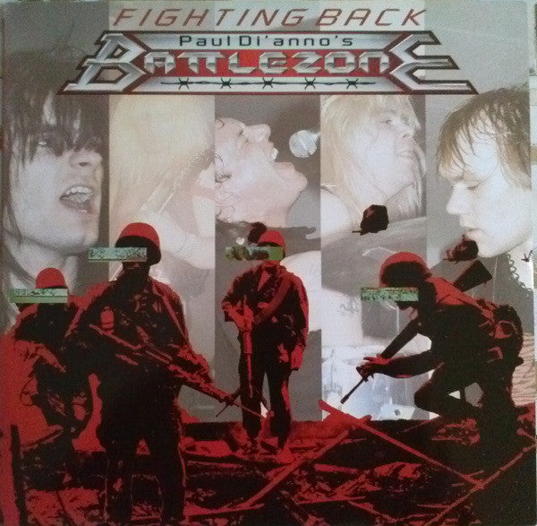 Paul Di'Anno's Battlezone ‎– Fighting Back