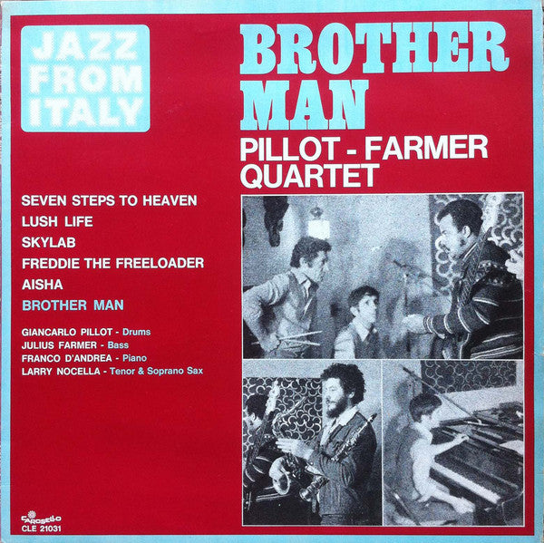 Pillot - Farmer Quartet ‎– Brother Man