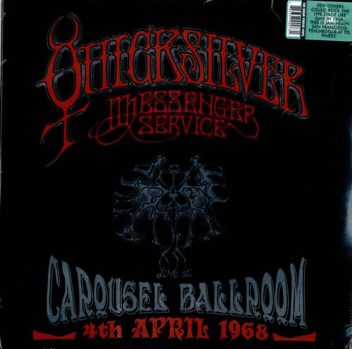 Quicksilver Messenger Service ‎– Live At The Carousel Ballroom, San Francisco, 4th April 1968